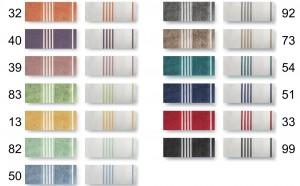 Handtuch-Serie Wüllen Farbpalette