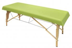 Massageliegenauflage waschbar apfelgrün