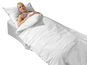 Einweg-Bettwäsche