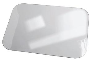 Klarsicht-Fußmatte / Liegenauflage